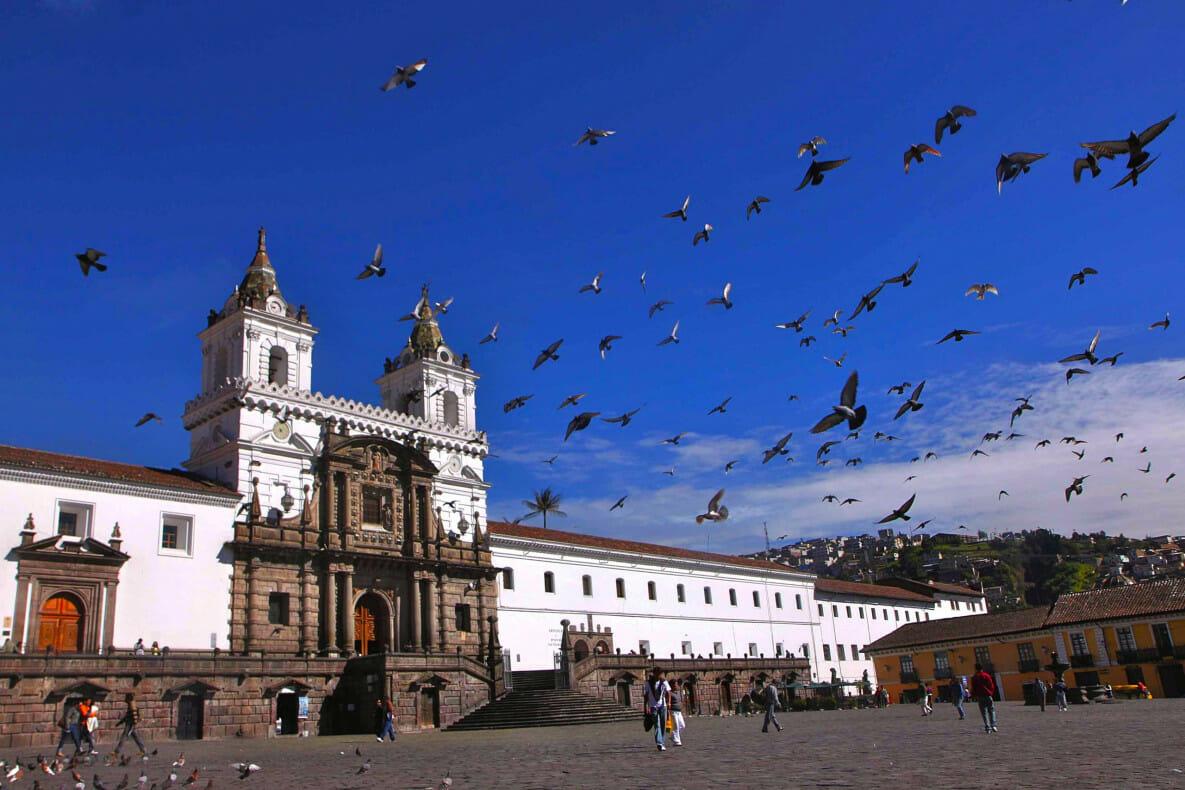 Ecuador hoofdstad Quito