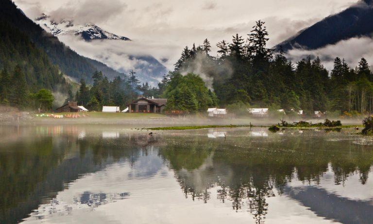 Canada reizen, Clayoquot Wilderness Resort
