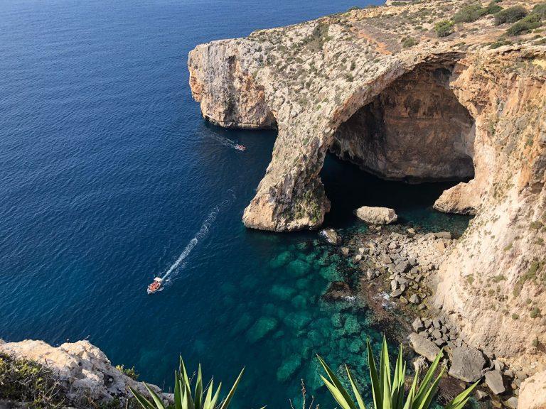 Malta Mediterranean cocktail