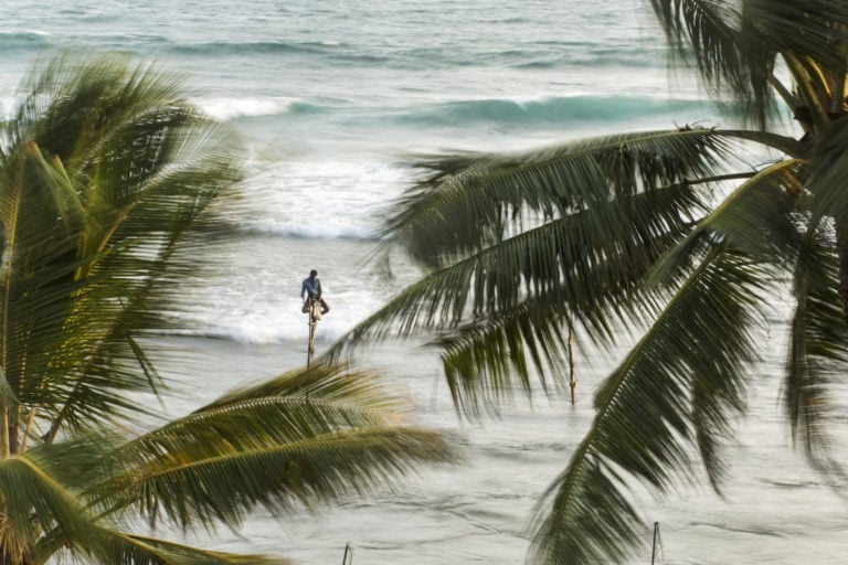 Sri Lanka, Stilt Fishermen
