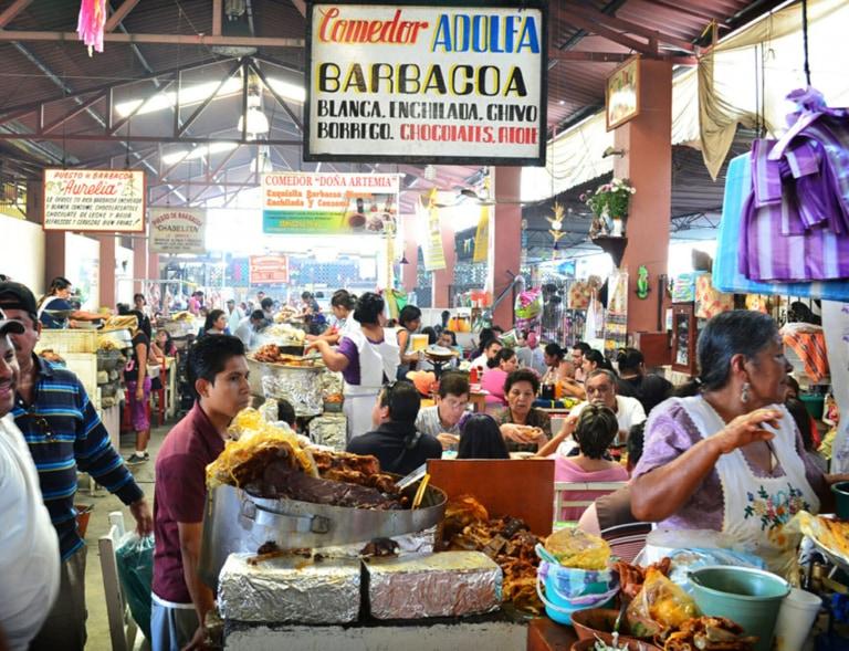 Oaxaca market, Mexico