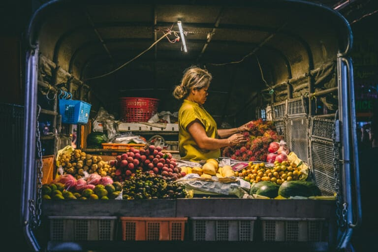 Thailand reizen, Bangkok, streetfood