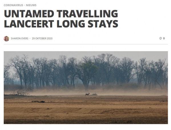 In de media - Long Stays in Travel Pro