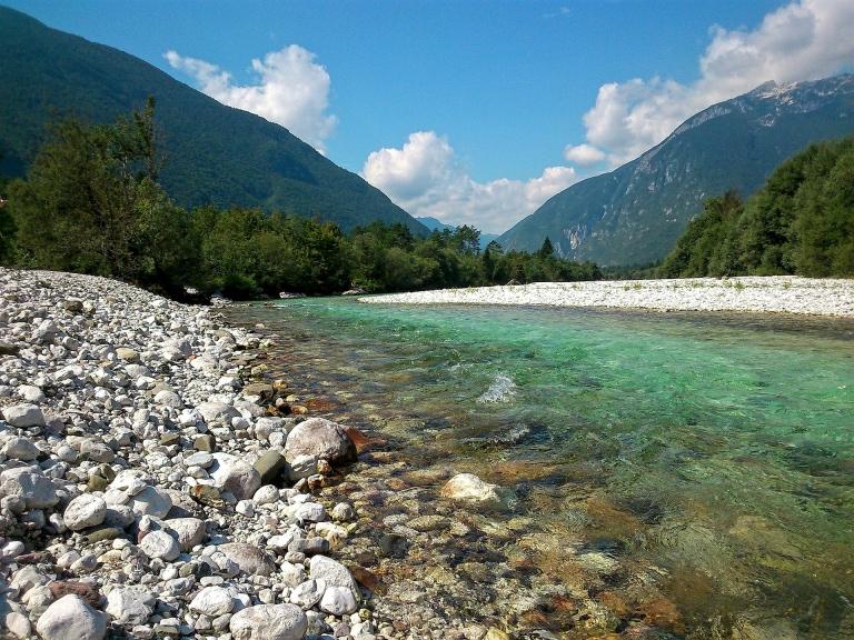 Slovenië, Soca rivier