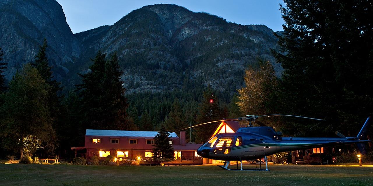 Tweedsmuir Park Lodge, Canada