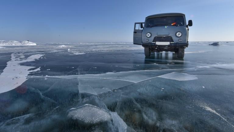 Baikal meer, Rusland