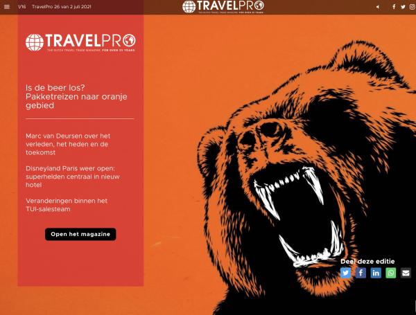 Cover TravelPro 26 - In de media