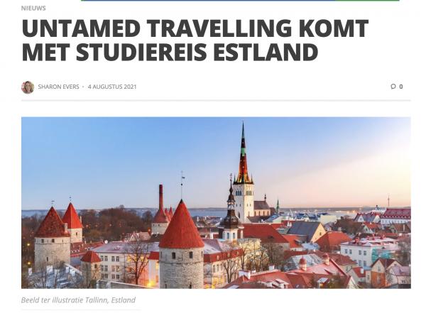 Studiereis Untamed in TravelPro