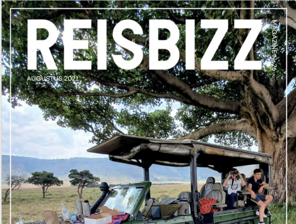 Cover Reisbizz Magazine Augustus