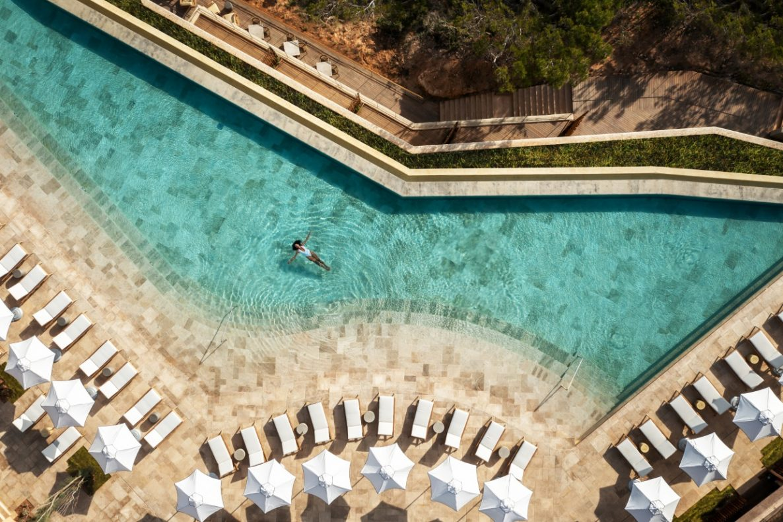 Spanje, Six Senses Ibiza, zwembad