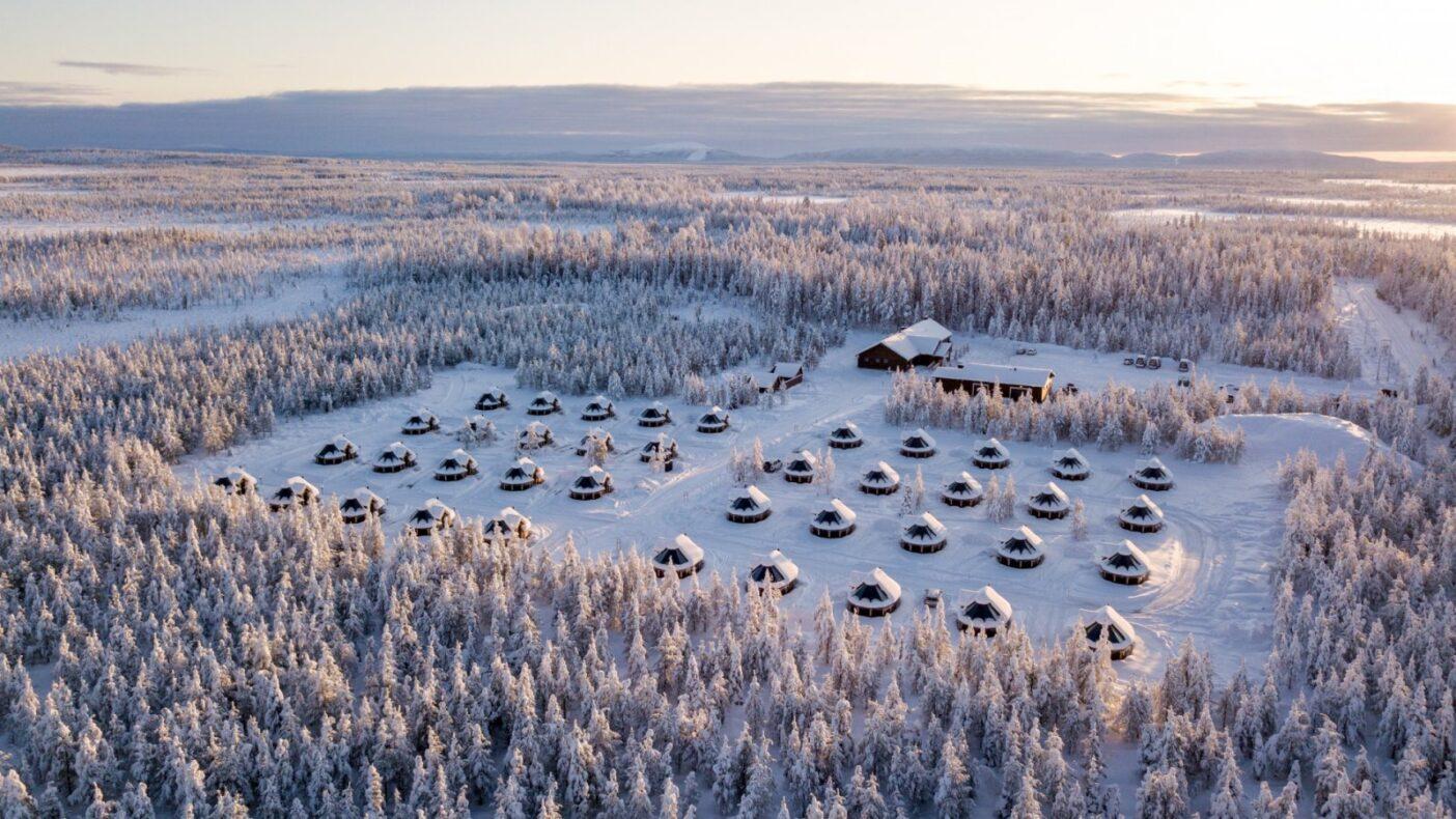 Finland, Northern Lights Village Levi